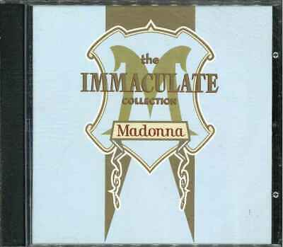 """MADONNA """"The Immaculate Collection"""" Best Of CD-Album"""