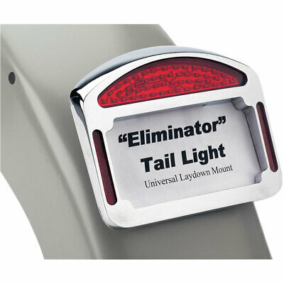 Cycle Visions Chrome Eliminator Tail Light for Harley Custom Fender Applications