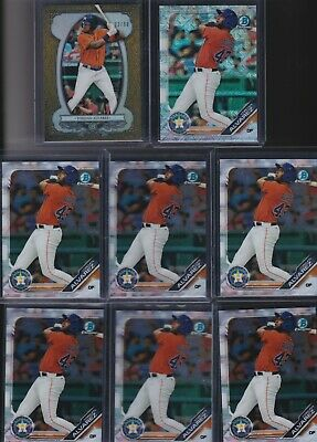 2019 Bowman Yordan Alvarez 13 RC Lot ALL Chrome Sterling GOLD /50 Top 100 + MEGA