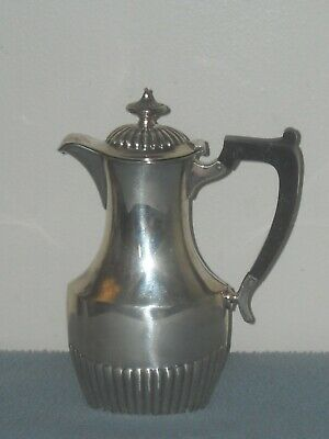 Antique Sterling  Hot Milk  Syrup Pitcher  W Lid Small Pot !!!
