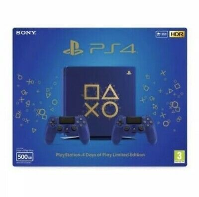 Sony Playstation Days Of Play 500gb Limited Edition