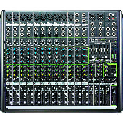 Mackie PROFX16-V2 16-Channel Compact Live & Studio Mixer w/ FX + USB - Used