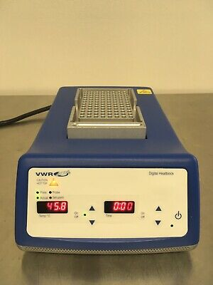 VWR Scientific Advanced Digital Dry Block Heater 75838-282 Pre-owned Excellent