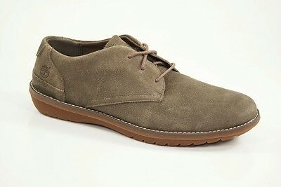 TIMBERLAND 5252A FRONT Country Taupe Suede 3 Eye plain