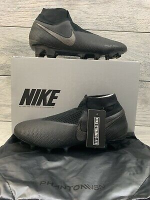 40127fd1e Nike Phantom VSN Vision Elite DF FG Black Men's Size 8 Soccer Cleats  AO3262-001