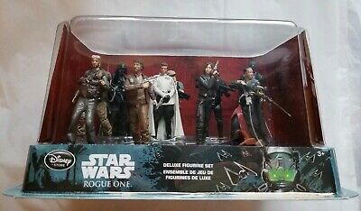 Star Wars Rogue One Disney Store Deluxe figure 10 piece play figure set