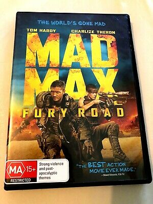 Mad Max Fury Road dvd + FREE POST