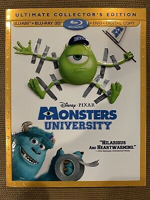 Monsters University Blu Ray Disc Only With Slipcover (No Digital No DVD No 3D)