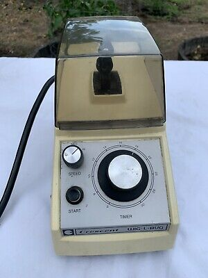 Crescent Wig-L-Bug Dental Lab Amalgamator Mixer Model Ds-801 - See Listing