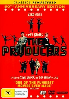 NEW The Producers (1968) DVD Free Shipping