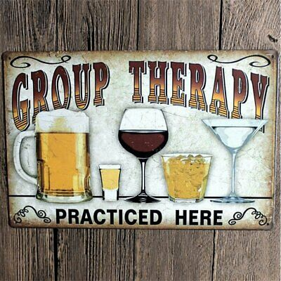 Vintage Signs Beer Metal Plate Painting Wall Poster Decor for Home Bar Poster oY