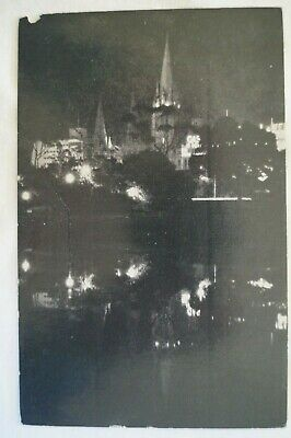 Olympic Games Collectable 1956 Melbourne Viewed from Yarra Vintage Esko Postcard