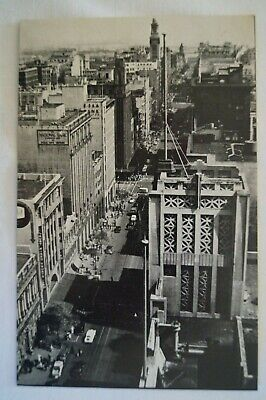 Olympic Games Collectable 1956 Melbourne Vintage Esko Postcard Collins Street