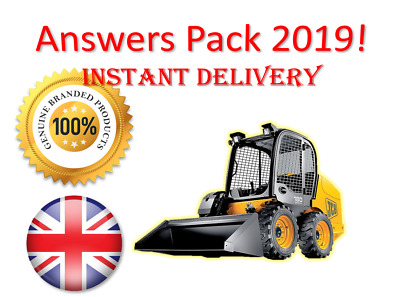 2019 CPCS A23 Skid Steer Loader Theory Test Answers PACK | BOOK + PDF