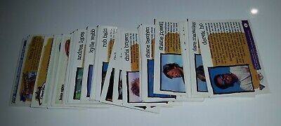 1995 Hot Surf Futera Australian surfing trading cards (not complete - 98 cards)