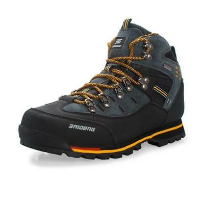 Mens Big Size Waterproof Hiking Shoes Lace Up Ankle Sneakers Outdoor Sporty