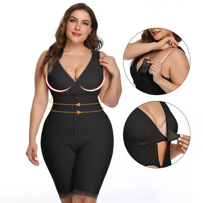 Plus Size Women Body Shaper Elastic Spanx Shapewear Waist Trainer Corset M-6XL