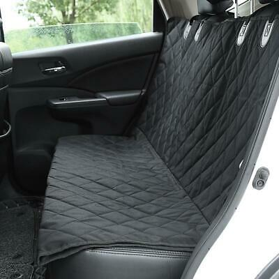 Durable Pet Dog Seat Hammock Cover Car Suv Van Back Rear Protector Mat Black