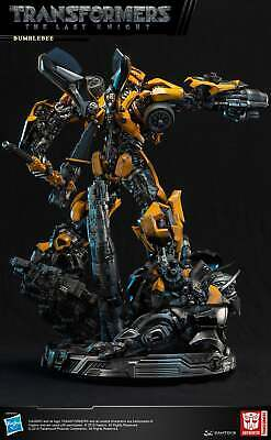 """DAMTOYS 23"""" CS013 Transformer 5 The last Knight Bumble Bee Light Up Statue FIG"""
