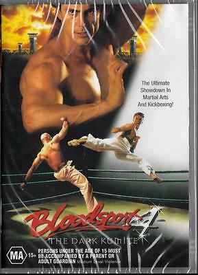 Bloodsport 4 - The Dark Kumite - New Region 4 Dvd Free Local Post