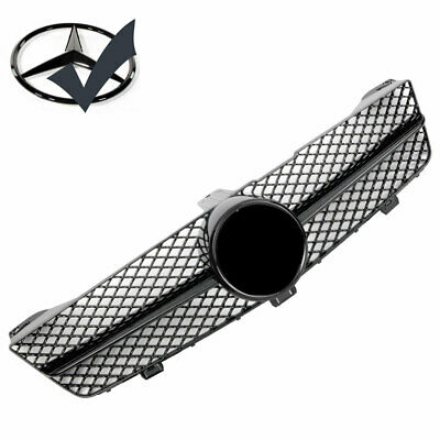 Grille Sport for Mercedes W219 CLS AMG LOOK 2008-2010 Gloss Black