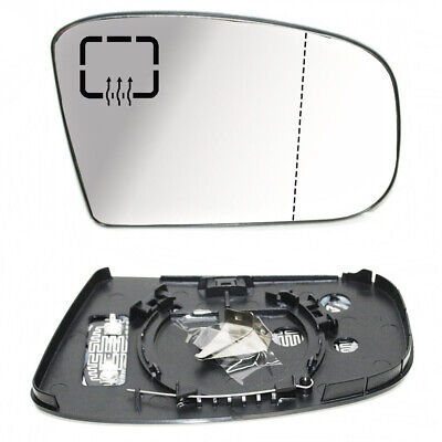 RH For Mercedes E//C Class W211 W203 Wing Mirror Heated Wide Angle White Glass