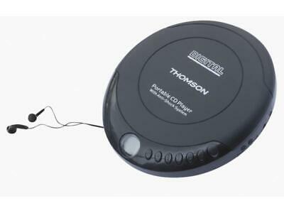CD Player with Earphones Music Player Walkman Discman Portable Disc THOMSON