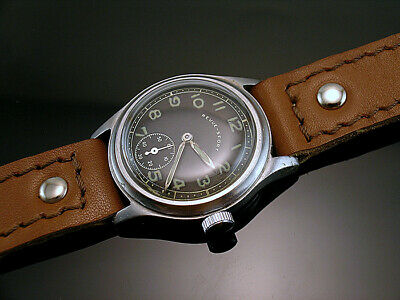 REVUE-SPORT DH , RARE MILITARY WRISTWATCHES for GERMAN ARMY, WEHRMACHT of WWII