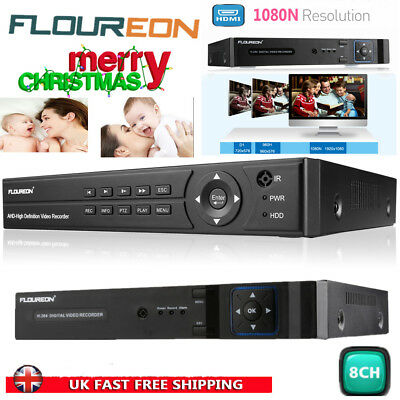 4 CHANNEL CCTV 1080N AHD DVR Video Recorder HDMI Digital