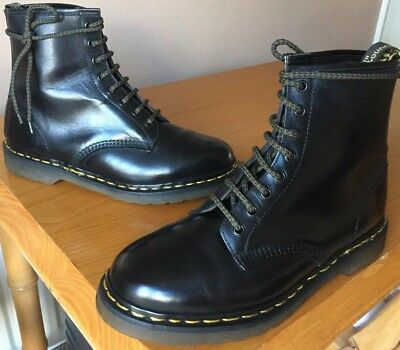 Dr Martens 1460 black leather boots UK 9 EU 43 Made in England