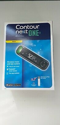 Contour Next ONE Glucose Monitoring System Wireless Meter And 10 Test Strips New