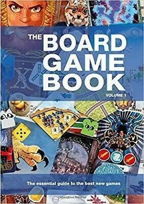 The Board Game Book - Volume 1 - Hardback Book