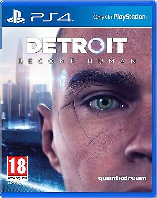 Detroit: Become Human | PlayStation 4 PS4 Used