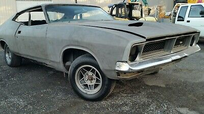 Ford Xb Falcon Coupe Hardtop 1976 Project Bare Steel Suit Xa Xc Gt Gs Mad Max