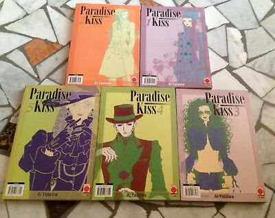 Paradise Kiss Collection 1-5 completa Prima Edizione Planet manga
