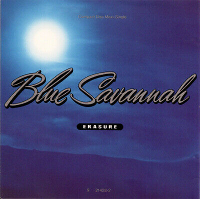 Erasure ‎– Blue Savannah (CD Maxi-Single, 1990, Sire US)