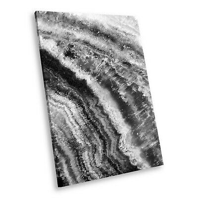 AB729 Cool Black White Abstract Portrait Canvas Picture Prints Small Wall Art