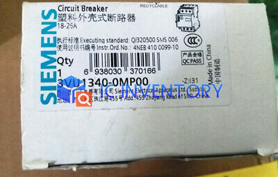 1PCS Brand NEW Siemens Motor Protection Circuit Breaker 3VU1340-0MP00