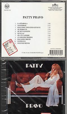 PATTY PRAVO CD sigillato SPECIAL LTD EDITION nuovo SEALED Omonimo 1° ALBUM 1998