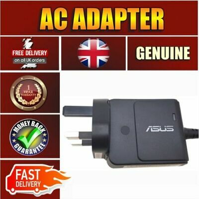 Replacement Bolt Asus Chromebook C300M 33W Laptop Ac Adapter Power Charger