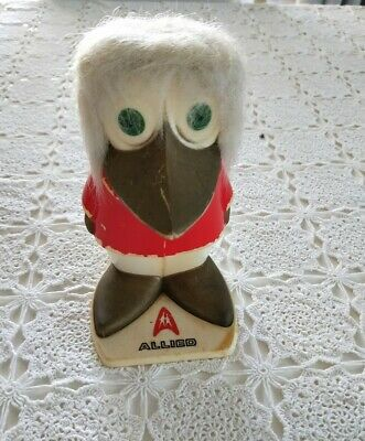 Vintage Allied Bank bird money box 15cm high Made in Finland