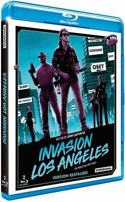 Invasion Angeles Carpenter Blu-Ray Nuevo No en Sellado