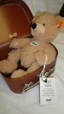 STEIFF FLYNN TEDDY Bear Doctor In Suitcase With Ear & Hang