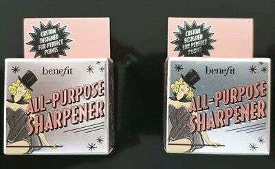 Benefit Dual All Purpose Pencil Sharpener x 2