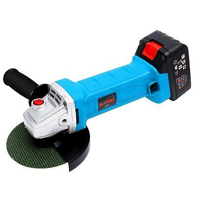 KATSU 102601 Cordless Angle Grinder 21V 4.0Ah in BMC With Twin Batteries