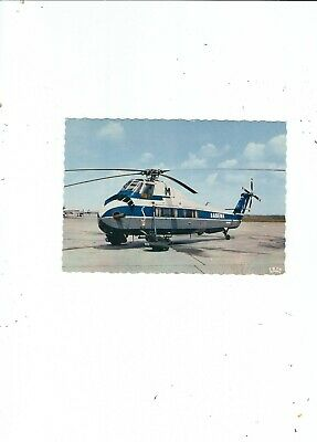 Tarjeta Postal Helicóptero SIK0RSKY IN The Old Sabena Air Livery Publin The 70s