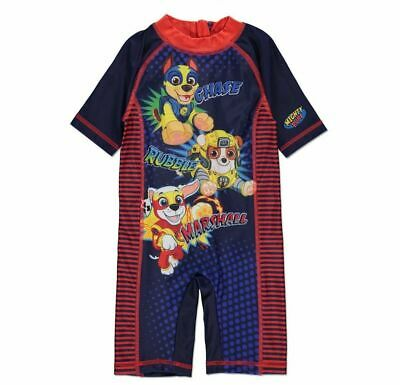 New Kids PAW Patrol Super Pups Sun Protection UV Swimsuit Costume 1 - 6 Years