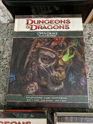 Dungeons & and Dragons Dnd DMG  OR Player's Handbook  Master's Guide 4th ed RPG