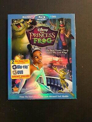 The Princess and the Frog (Blu-ray Disc, 2010); Never Watched