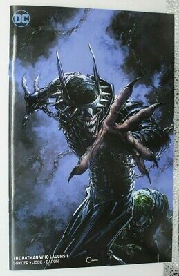batman who laughs #1 virgin variant crain
